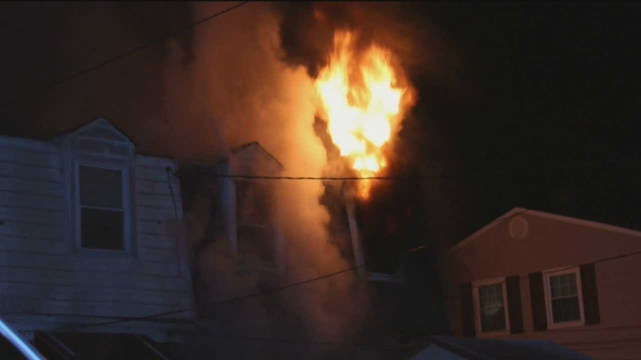 Dundalk fire injuries 3, displaces 2 families