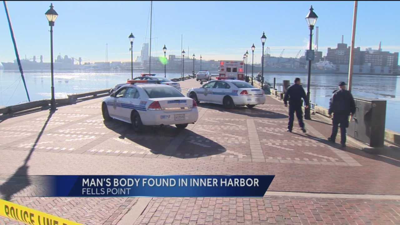 man's body found in water
