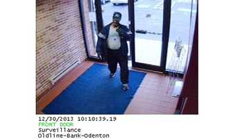 Anne Arundel County police hope somebody recognizes three men who robbed an Odenton bank on Monday.