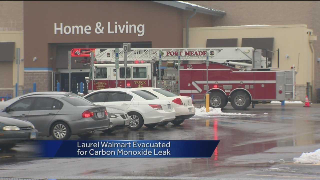 Laurel Walmart evacuation