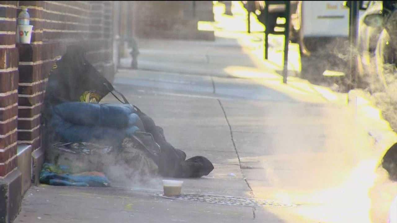 City mayor to address Baltimore's homeless