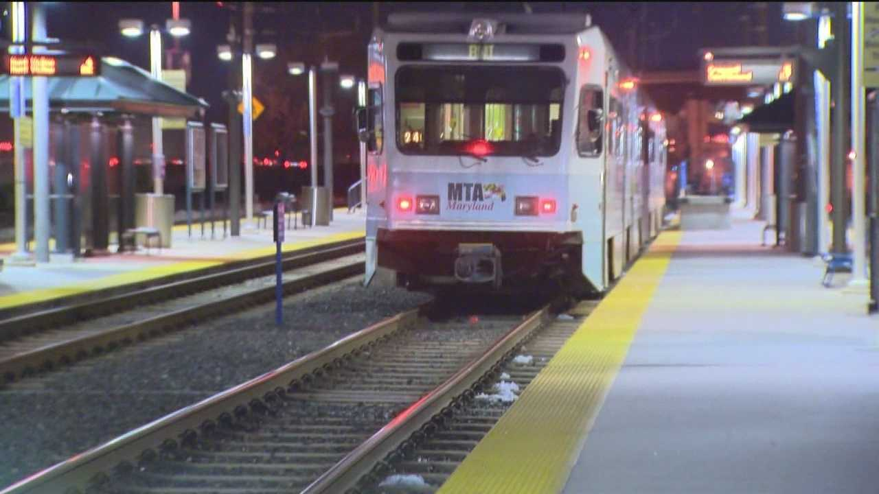 Light rail riders face long waits during weather-related delays