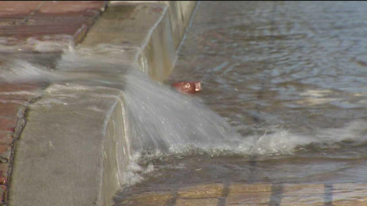 DPW crews battle series of water main breaks in city