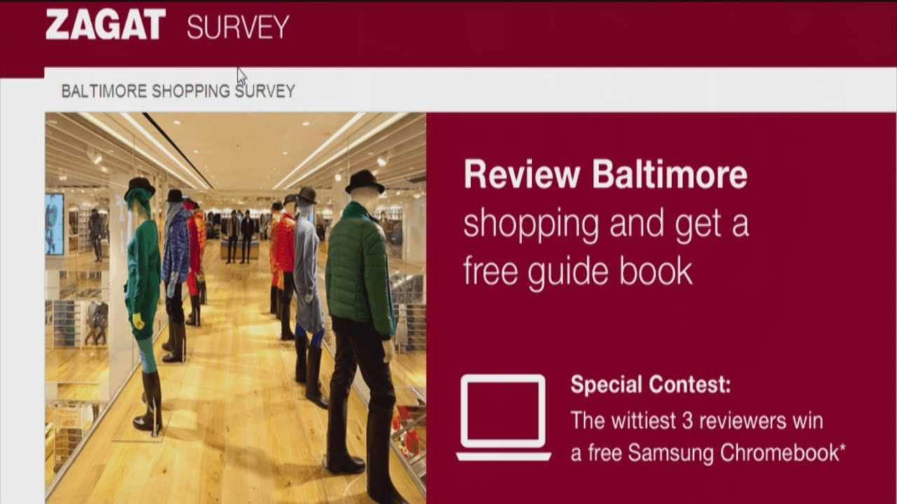 Zagat to rate favorite Baltimore shopping spots