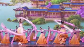 """""""Chinese classical dance is a really rich, comprehensive dance form that has lots of vocabulary and so much expression that allows you to portray historical features and Chinese myths and legends,"""" said performer Faustina Quach."""