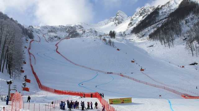 Olympic venues - Rosa Khutor Alpine Center 1
