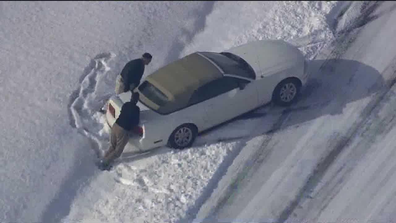 Winter weather slams Eastern Shore