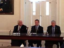 Jan. 30: Gov. Martin O'Malley's bill signing for emergency health insurance.
