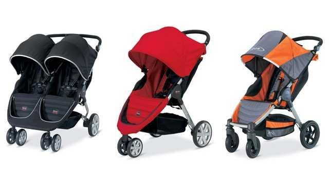 britax stroller recall