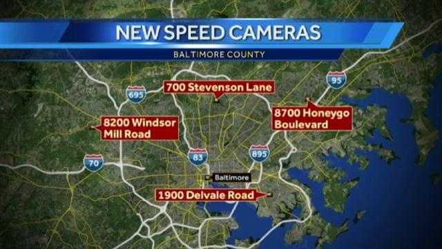 new speed camera locations (map)