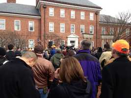 Feb. 4: Gun advocates rally.