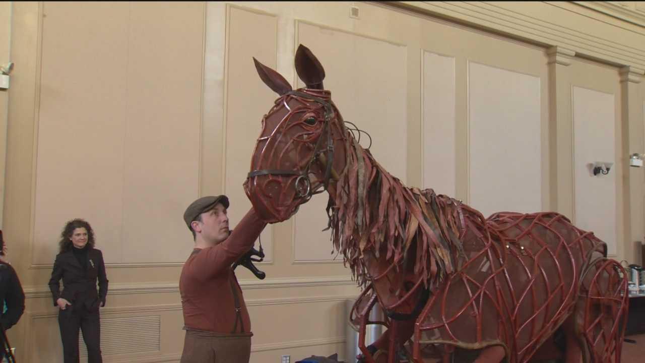 'War Horse' trots into Hippodrome Theatre