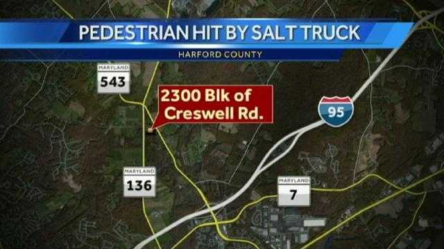 salt truck crash graphic