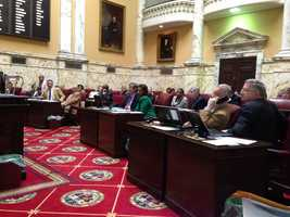 Feb. 6: The Senate voted 41-6 in favor of expanding Baltimore City's needle exchange program.