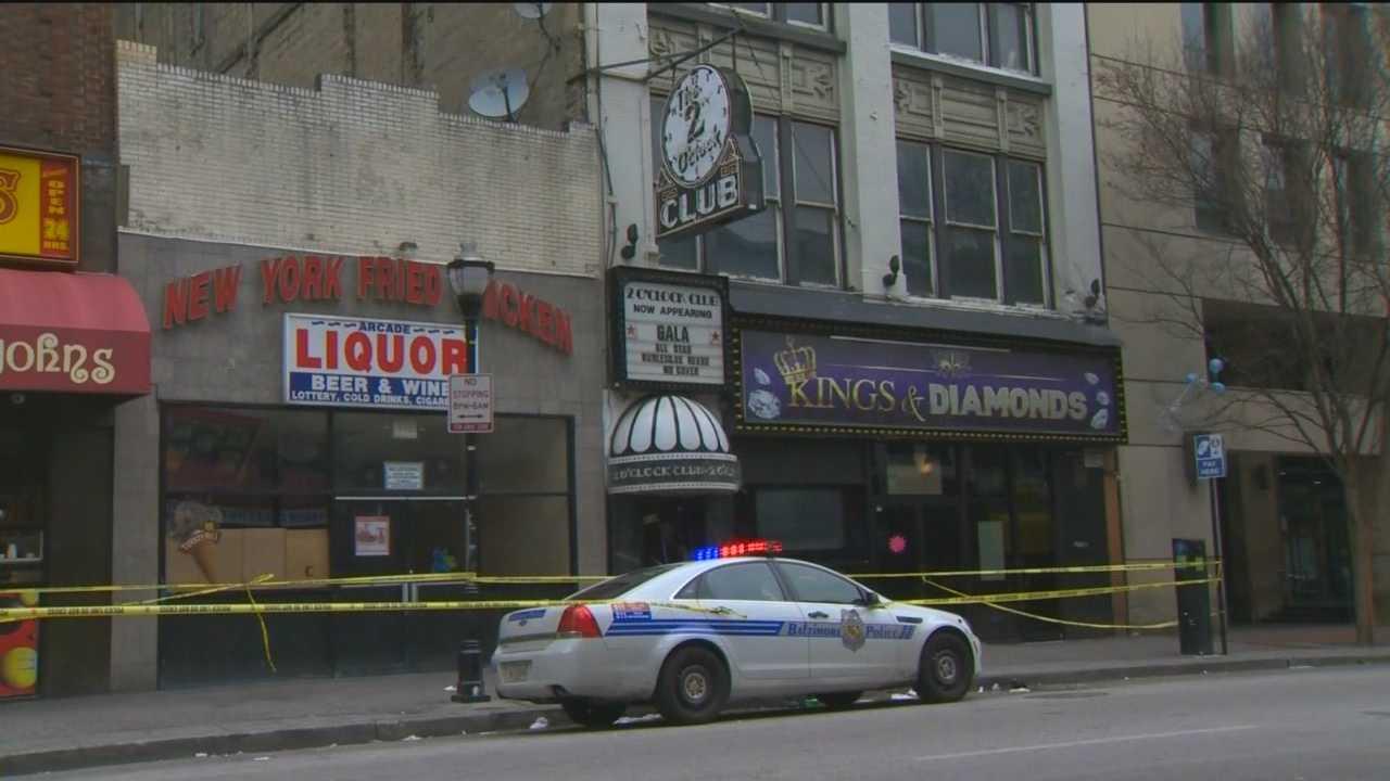 The 2 o'clock club stabbing scene