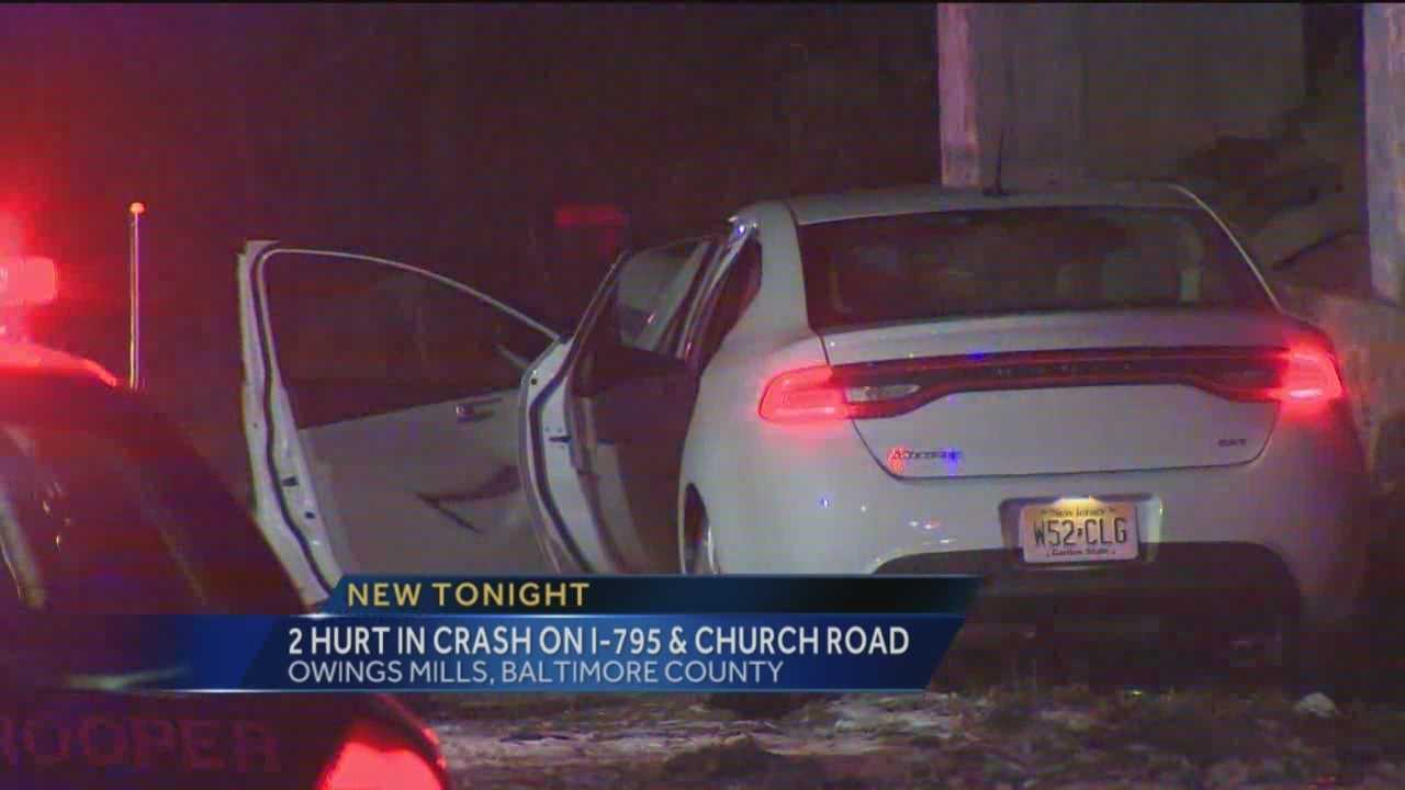 795 Church Road car crash