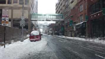 Calvert Street downtown Baltimore