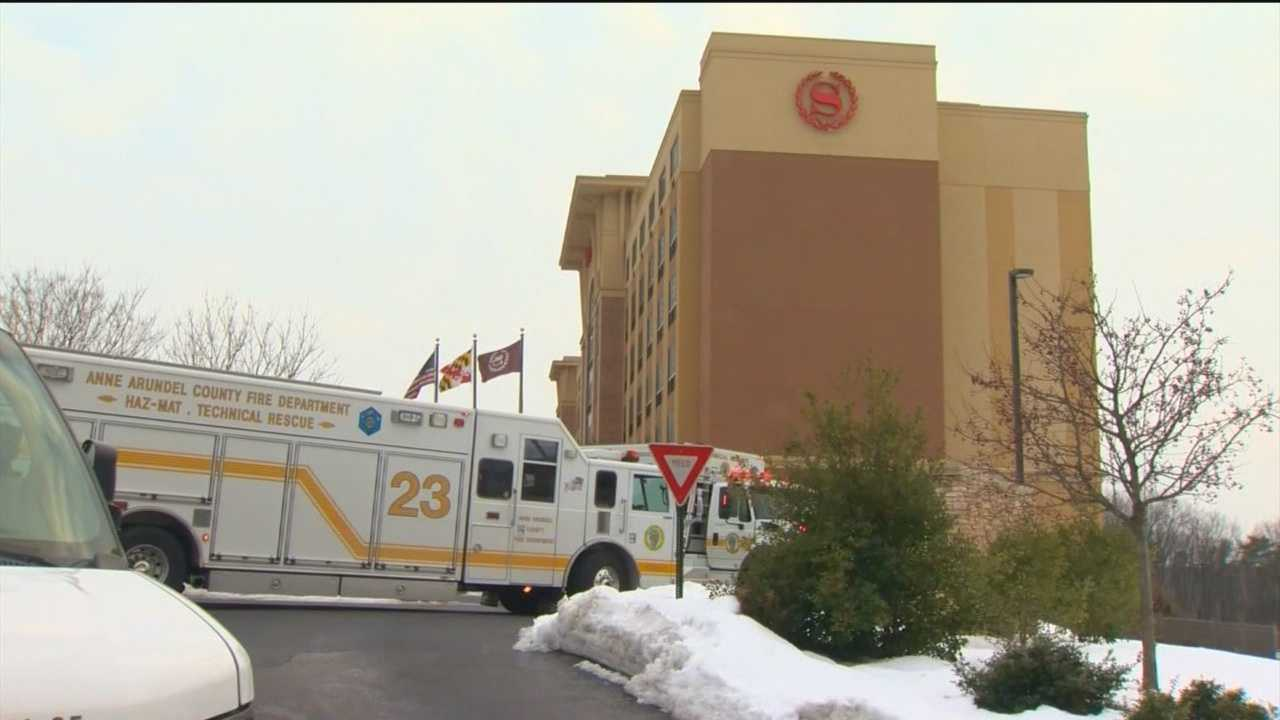 Several hospitalized in hotel CO incident