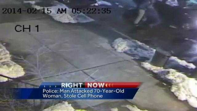 70-year-old cellphone robbery