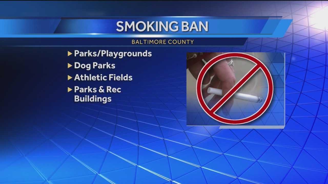 Baltimore County Council bans some outdoor smoking