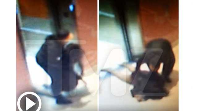 TMZ photo- Ray Rice elevator photo