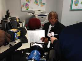 Feb. 20: Julius Henson, convicted for robocalls, fills out forms to run for state Senate.Henson was convicted on a conspiracy charge two years ago in connection with the infamous robocalls that suggested to voters Martin O'Malley had already won the gubernatorial election.