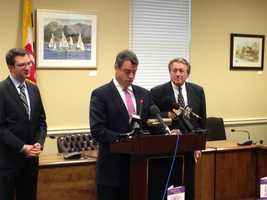 Feb. 21: Maryland Attorney General Doug Gansler discusses a domestic violence bill that's being introduced in the General Assembly.