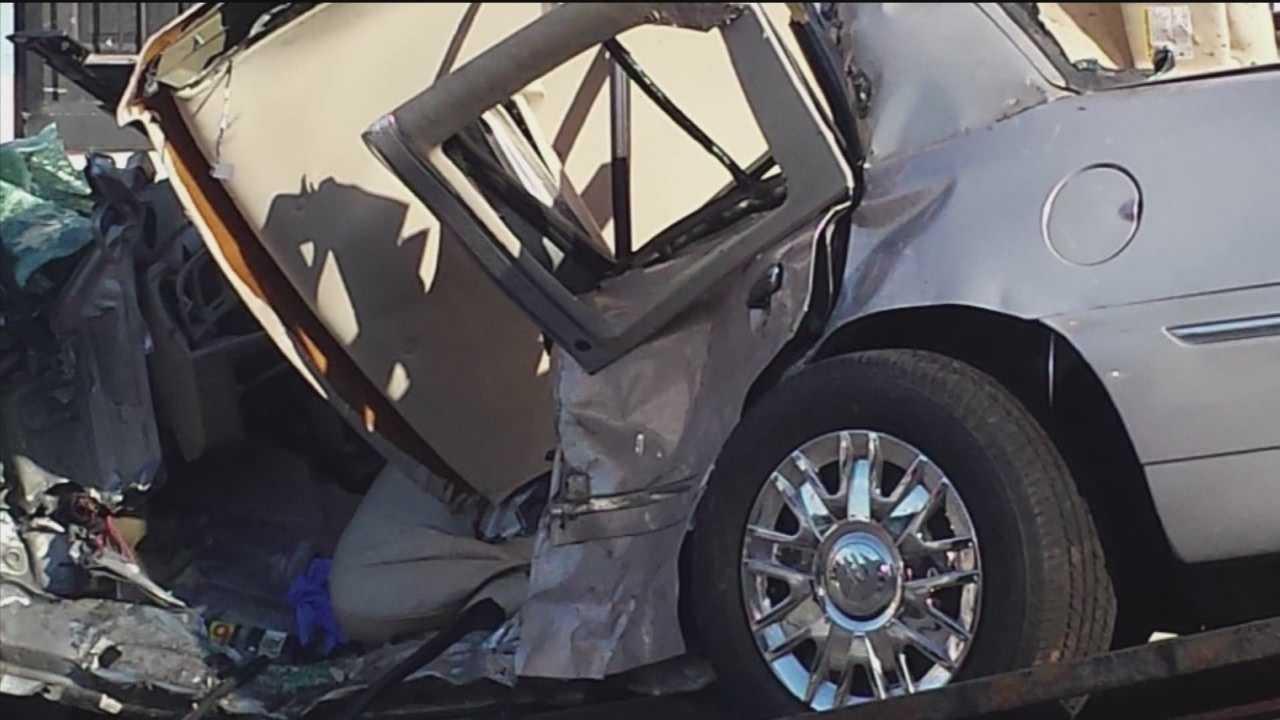 1 killed, 12 injured in west Baltimore crash