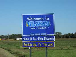 551 moved to Delaware. They moved to New Castle, Sussex and Kent counties in that order.