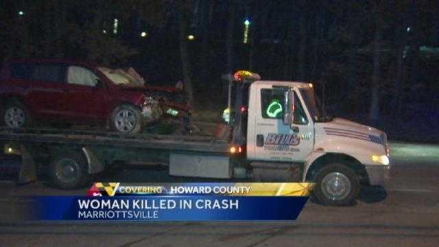 Marriottsville Road crash