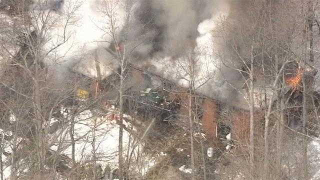 Davidsonville house fire