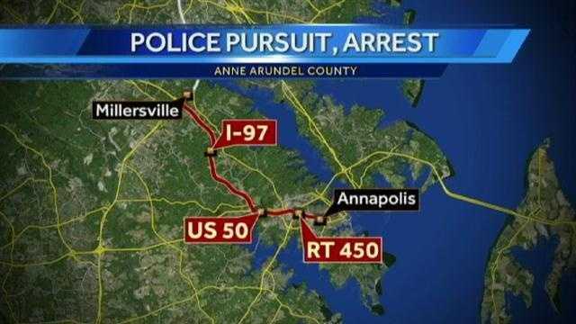 AACO pursuit map