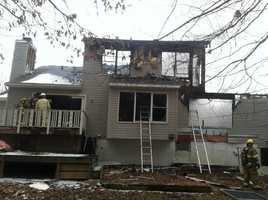 A blaze destroyed a vacant home in Severn, fire officials said. Read the full story here.
