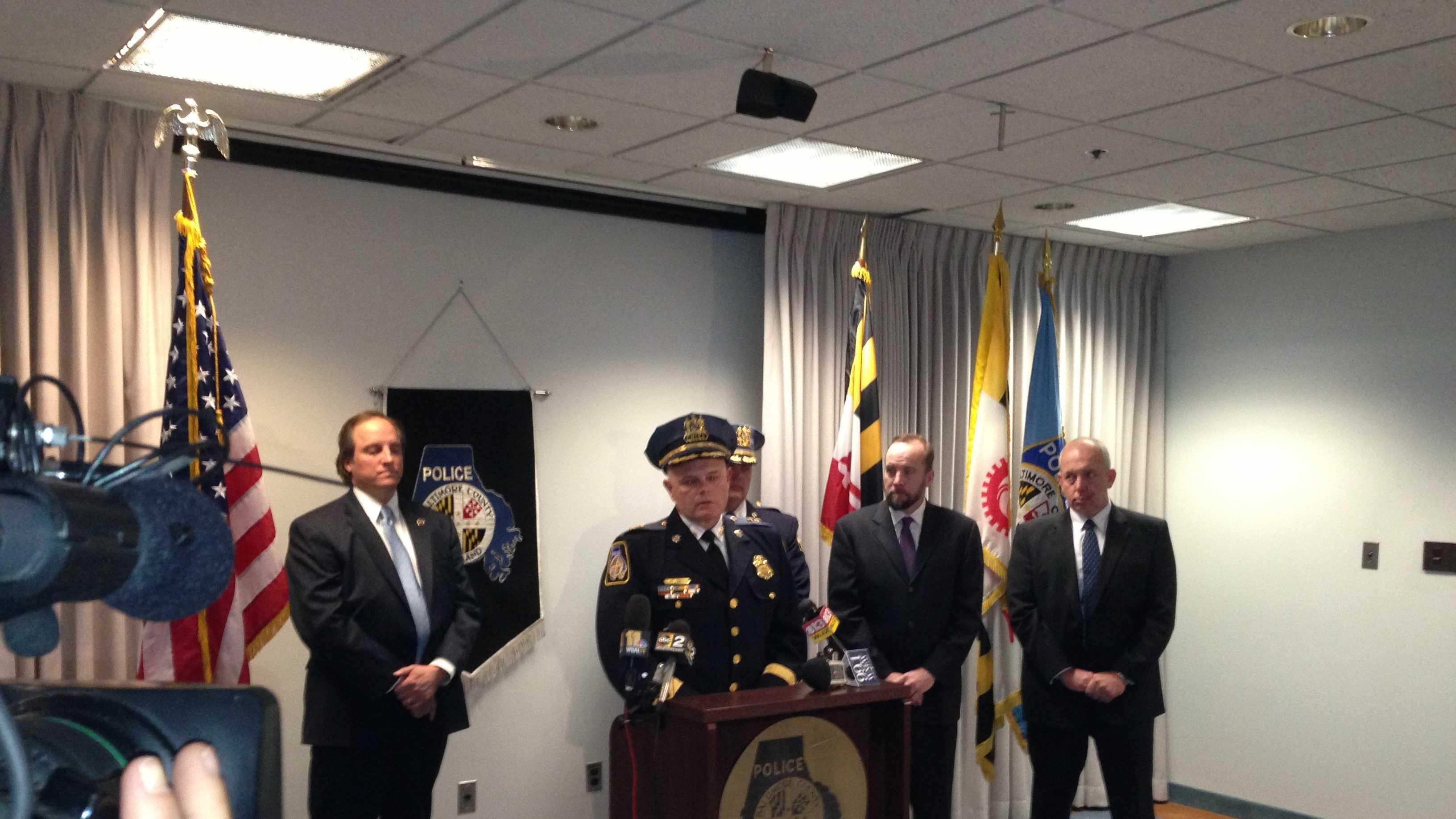 Baltimore County police presser