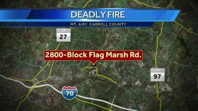 Mount Airy fire graphic
