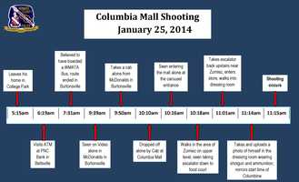 Howard County police on Wednesday released new details in the Columbia mall shooting, including a timeline of events and evidence of the shooter's state of mind during the deadly Jan. 25 incident in which he killed two people before turning the gun on himself. Read the full story here.