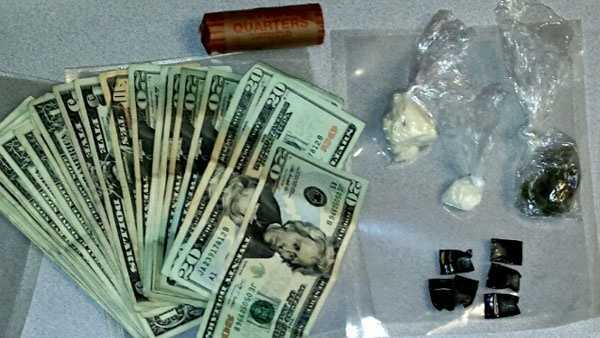 Money and drugs were seized following a traffic stop in Brooklyn Park, police said.