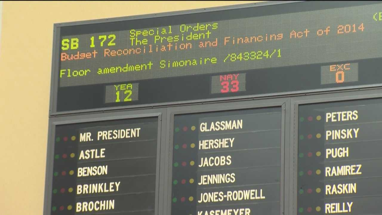 Budget plan gets preliminary approval in Senate