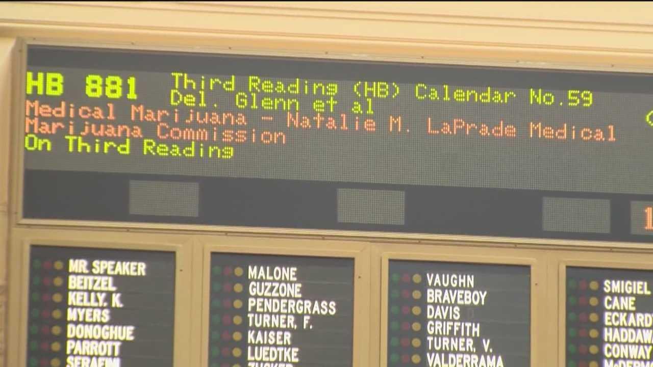 Revised medical marijuana bill changes program