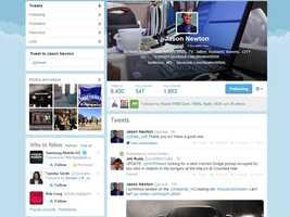 Facebook or Twitter? Twitter. Follow him @jnnewt