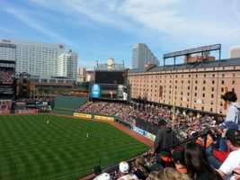 2) Oriole Park at Camden Yards, Baltimore, Maryland