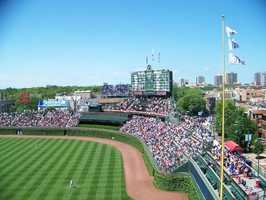 8) Wrigley Field, Chicago, Illinois