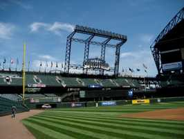 10) Safeco Field, Seattle, Washington