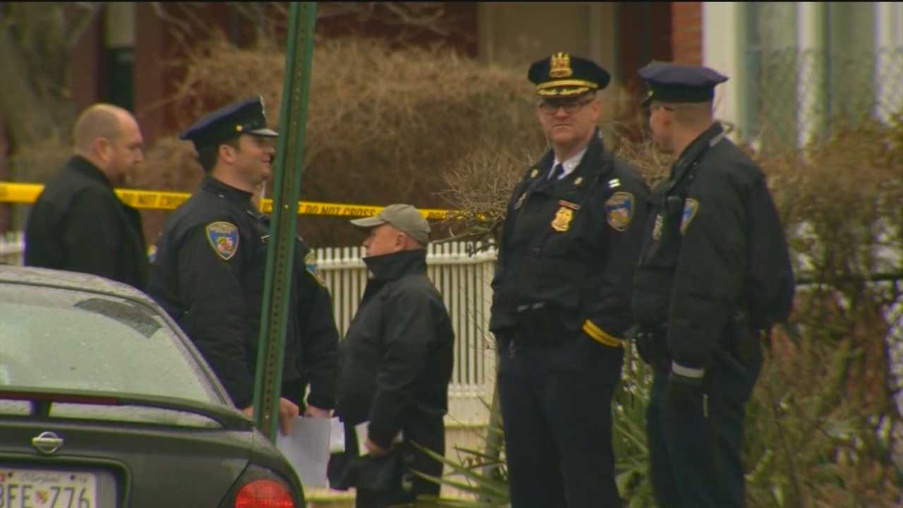 Baltimore City police investigate double shooting