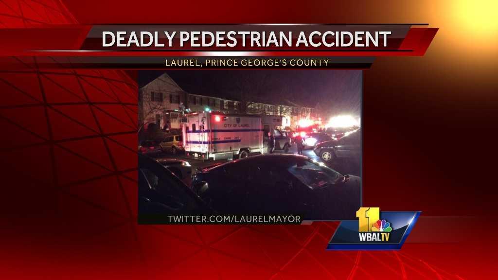 Laurel fatal pedestrian accident