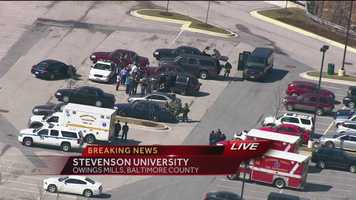 Authorities said the lockdown at Stevenson University has been lifted as they continue their investigation into witness reports of a gunman on campus.
