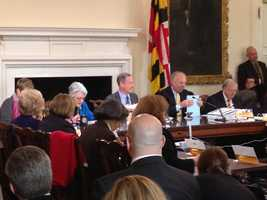 April 2: Comptroller Peter Franchot did not say anything about the upgrade of the Maryland Health Exchange.