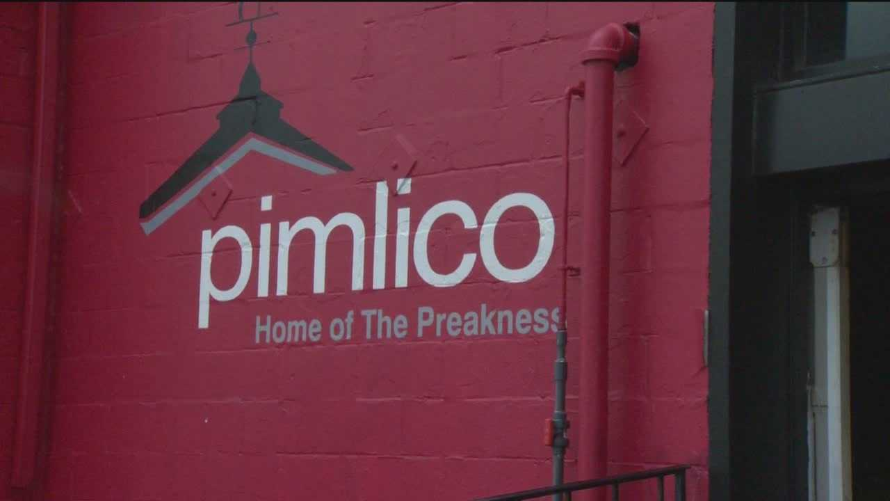 Pimlico Race Course opened Thursday for thoroughbred racing with just 44 days left until the 139th Preakness Stakes.
