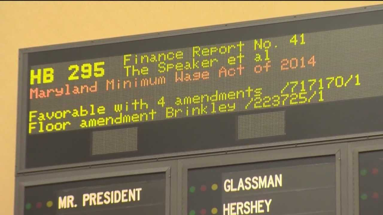Senate pushes minimum wage bill to last minute