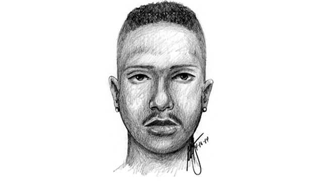 sketch in girl's rape